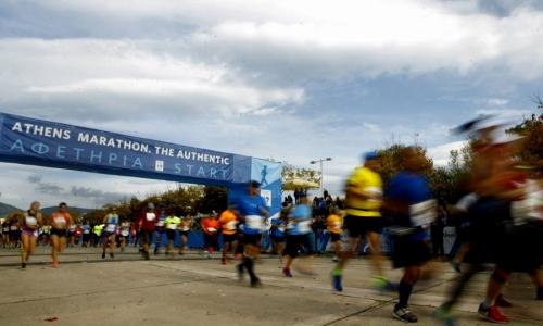Ιστορικό ρεκόρ συμμετοχής στον Μαραθώνιο της Αθήνας