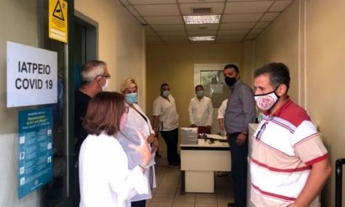 Ιατρείο COVID-19 στην Καλλιθέα - Δωρεάν εξέταση για κορονοϊό, με πρωτοβουλία του δήμου Καλλιθέας