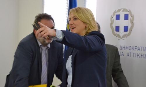 Ρένα Δούρου: Στην Περιφέρεια συνεχίζουμε τον αγώνα κατά της διαφθοράς
