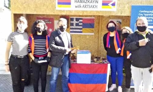 Κάρναβος: Συμπαραστεκόμαστε στους Αρμένιους αδερφούς μας