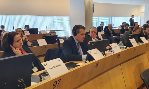 Παρέμβαση του Δημάρχου Καλλιθέας στην ΕΕ για την ασύμμετρη απειλή που δέχεται η χώρα μας